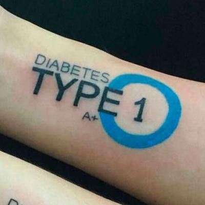 Tatuagem para identificação do diabetes