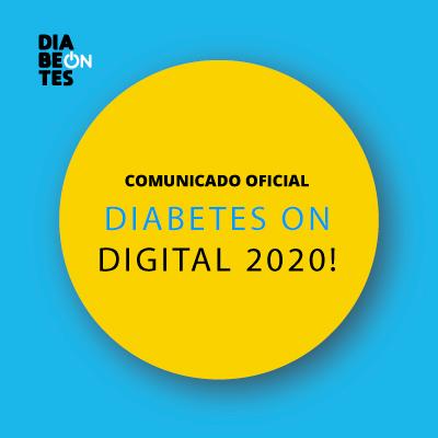 Comunicado oficial: mudança para evento digital